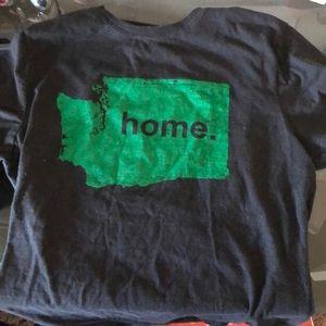 Home. Washington state tee